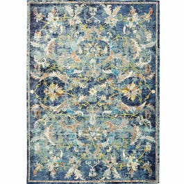 Gala Navy Multi 5x8 Rug Weekends Only Furniture