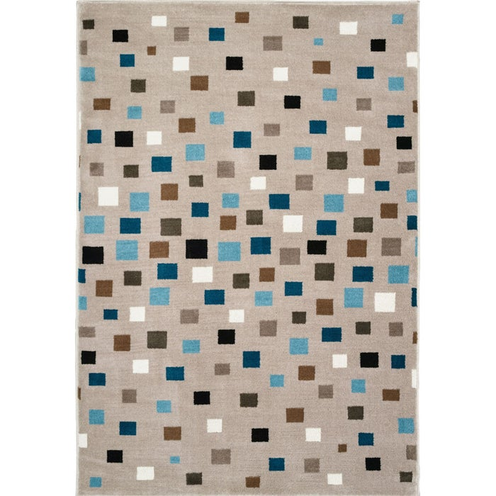 Whimsical Gray Multi 5x7 Rug Weekends Only Furniture