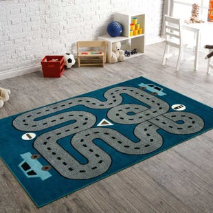 Youth Racetrack 5x8 Rug