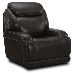 Simon Li Jasper Top Grain Leather Power Reclining Sofa