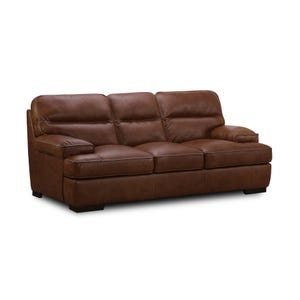 Simon Li Colin Top Grain Leather Sofa