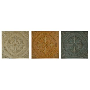 Asstorted  Melli Metal Wall Plaques
