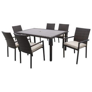 Fiji 7 Piece Patio Dining Set