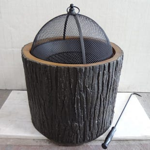 Woodsy Metal Firepit