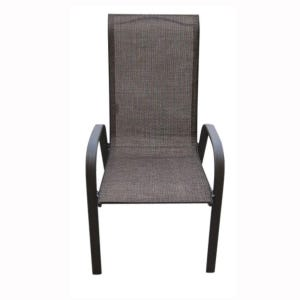 Hollywood II Brown Patio Dining Chair