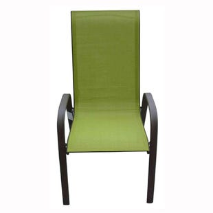 Hollywood II Green Patio Dining Chair