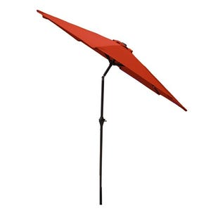 8' Sienna Orange Market Umbrella