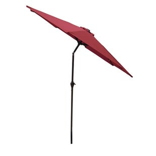 8' Red Market Umbrella