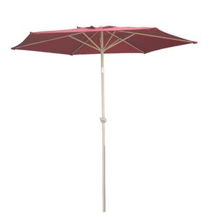Red 9' Market Umbrella