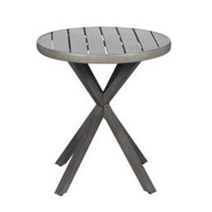 Crown Line Patio Round Slat Top Bistro Table
