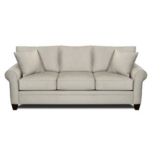 MyDesign Finley Roll Arm Linen Sofa