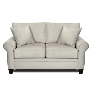 MyDesign Finley Roll Arm Linen Loveseat