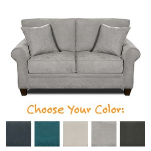 MyDesign Finley Roll Arm Loveseat