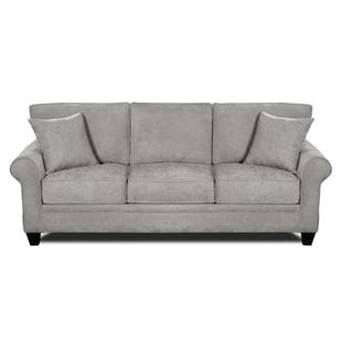 MyDesign Finley Roll Arm Light Gray Sofa