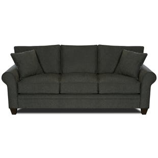 MyDesign Finley Roll Arm Dark Gray Sofa