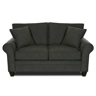 MyDesign Finley Roll Arm Dark Gray Loveseat