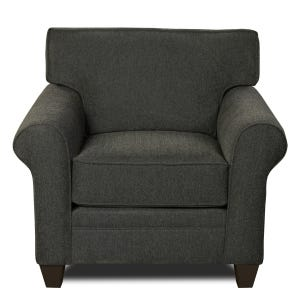 MyDesign Finley Roll Arm Dark Gray chair