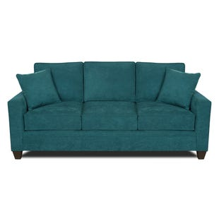 MyDesign Rory Track Arm Teal Sofa