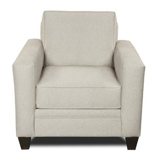 MyDesign Rory Track Arm Linen Chair