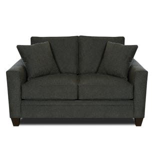 MyDesign Rory Track Arm Dark Gray Loveseat