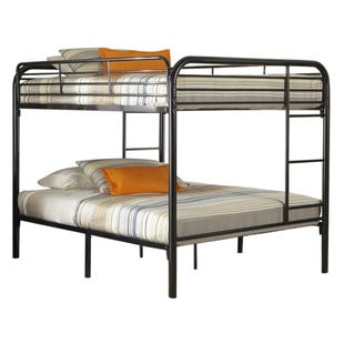 Kool Kids Black  Full/Full Bunk Bed