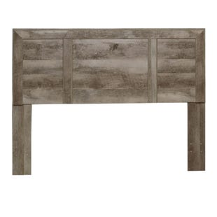 Basic Edtions Full Panel Headboard Gray/Oak