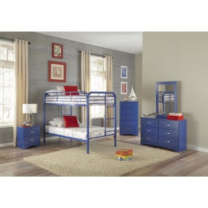 Kool Kids Royal Blue 2 Drawer Nightstand