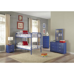 Kool Kids Royal Blue 5 Drawer Chest