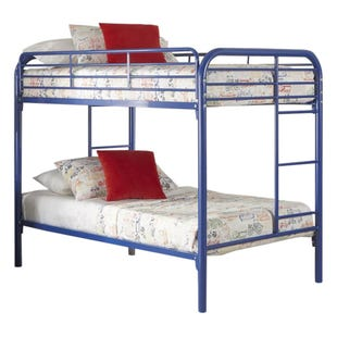 Kool Kids Royal Blue Twin/Twin Bunk Bed