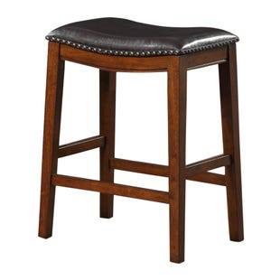 Saddle Counter Stool Espresso