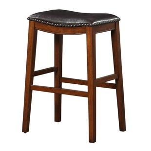 Saddle Bar Stool Espresso