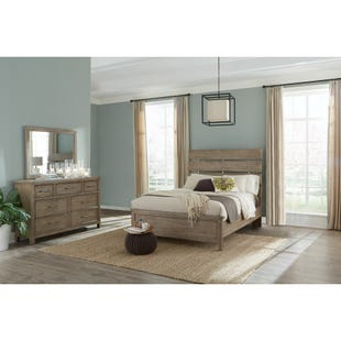 Harper Falls Lodge Gray Queen 3 Piece Bedroom Set