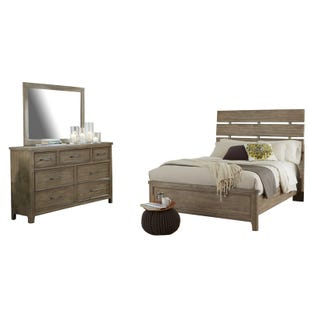 Harper Falls Lodge Gray King Bedroom Set