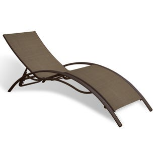 Mix and Match Patio Laguna Tan Patio Chaise Lounge