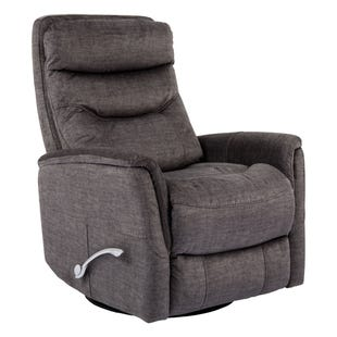 Parthenon Titanium Swivel Glider Recliner