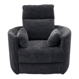 Swivel Power Radius Recliner Meditteranean