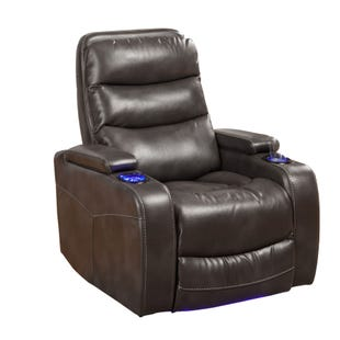 Genesis Gray Power Home Theater Recliner