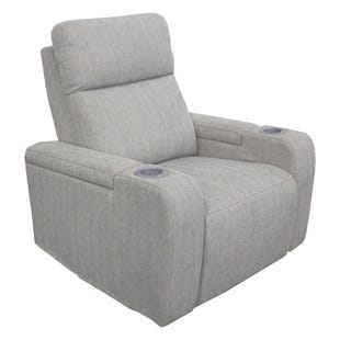 Orpheus Beige Dual Power Recliner