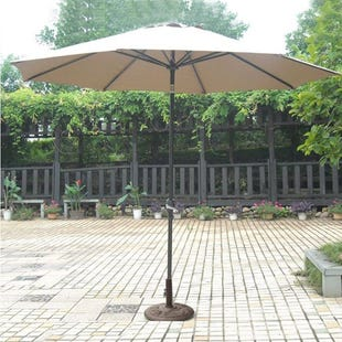 Castle Rock 2 Piece Aluminum Umbrella and Base