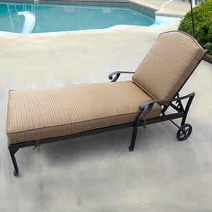 Castle Rock Patio Chaise Lounge Chair