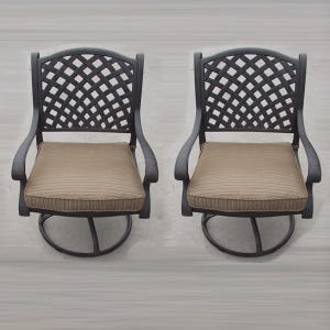 Castle Rock Set of 2 Swivel Chairs