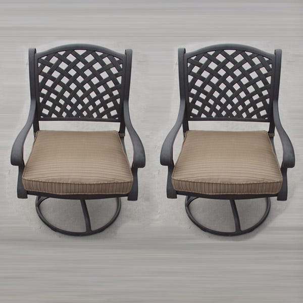Castle Rock Set Of 2 Swivel Chairs Weekends Only Furniture