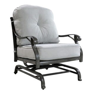 Macon Outdoor Motion Club Chair with Cushion