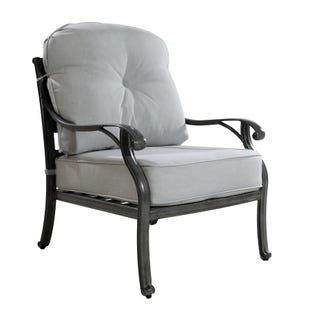 Macon Outdoor Club Chair with Cushion