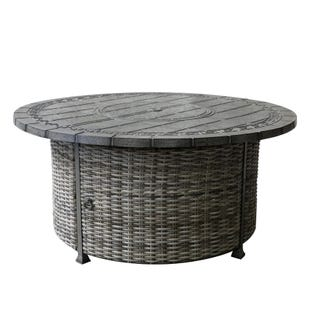 Macon Chat Height Outdoor Fire Pit Table