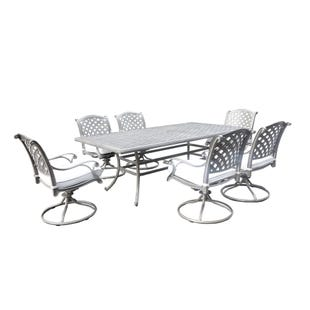 Macon 7pc Rectangle Table Dining Set