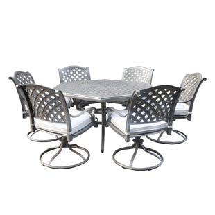 Macon Patio 7 Piece Dining Set