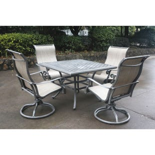 """Macon Outdoor 44"""" Square Dining Table"""