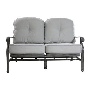 Macon Motion Outdoor Loveseat  with Cushion