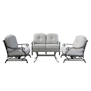 Macon Club Collection Motion Patio Seating Set